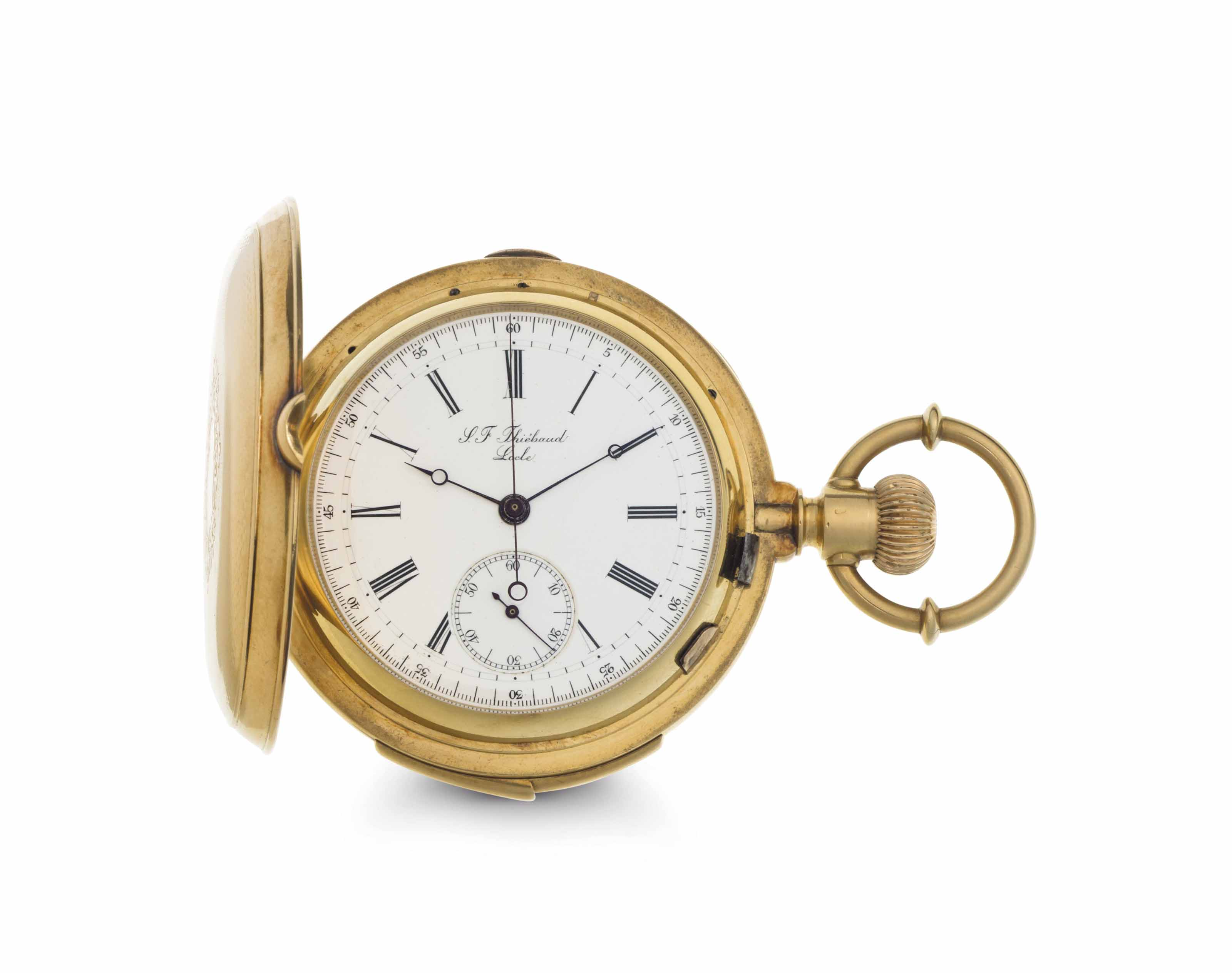 Thiebaud. An 18k Gold Minute R