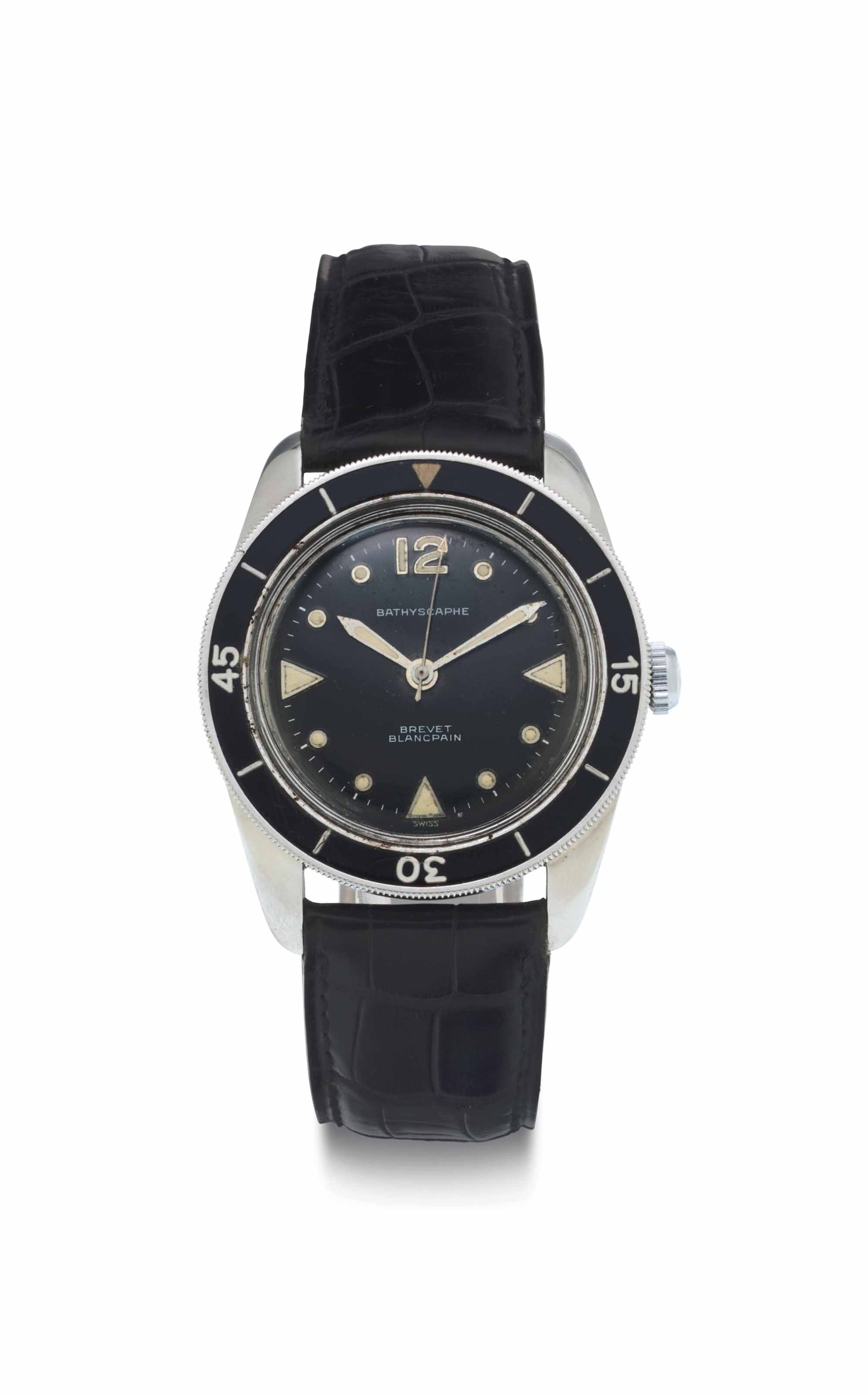 Blancpain. A Stainless Steel D
