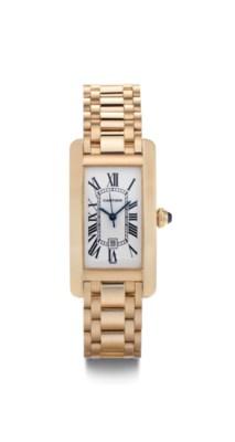Cartier. A Fine 18k Pink Gold