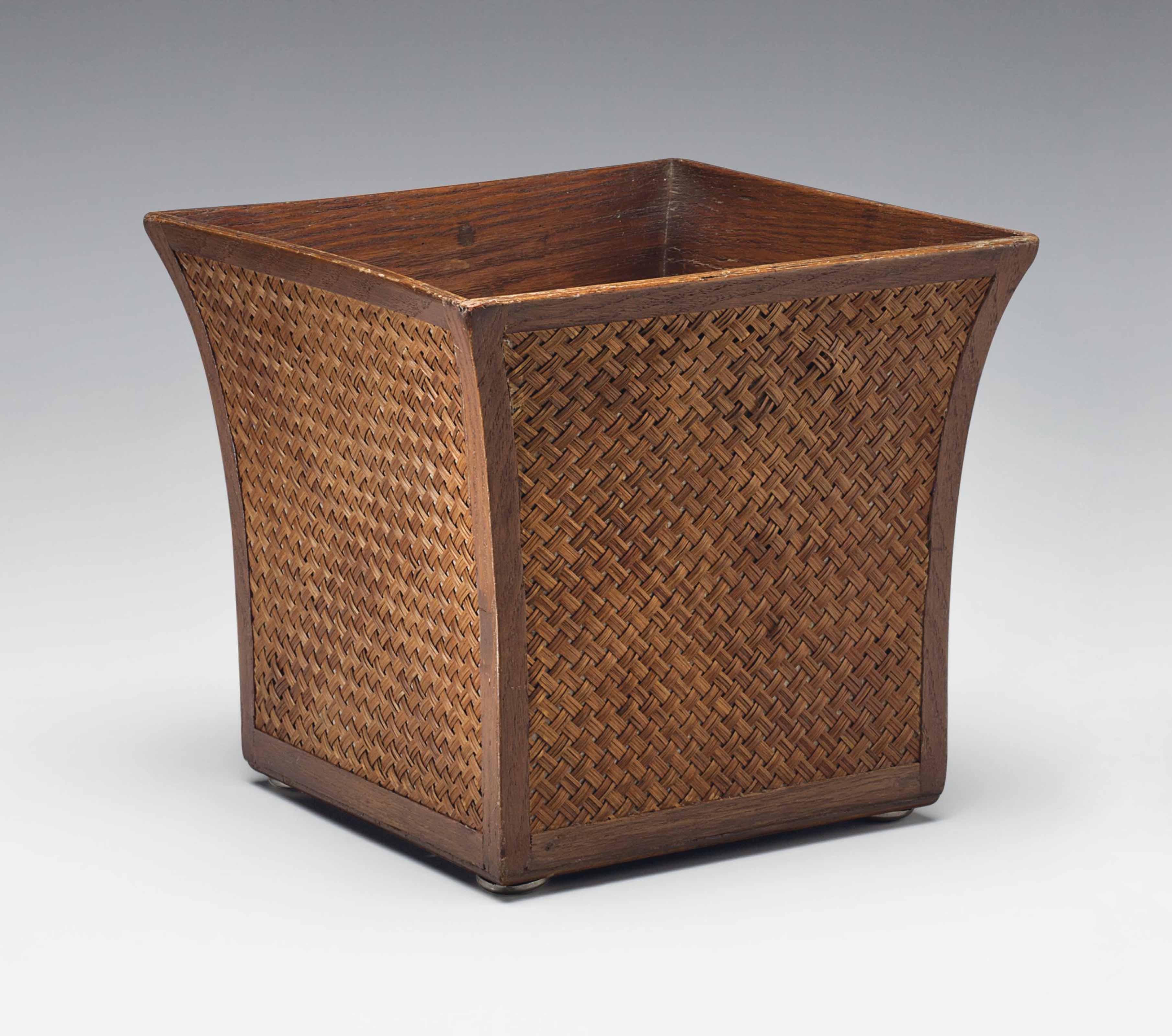 JEAN MICHEL FRANK (1895 1941) | A WASTE BASKET, 1939 | 1930s, Furniture U0026  Lighting | Christieu0027s