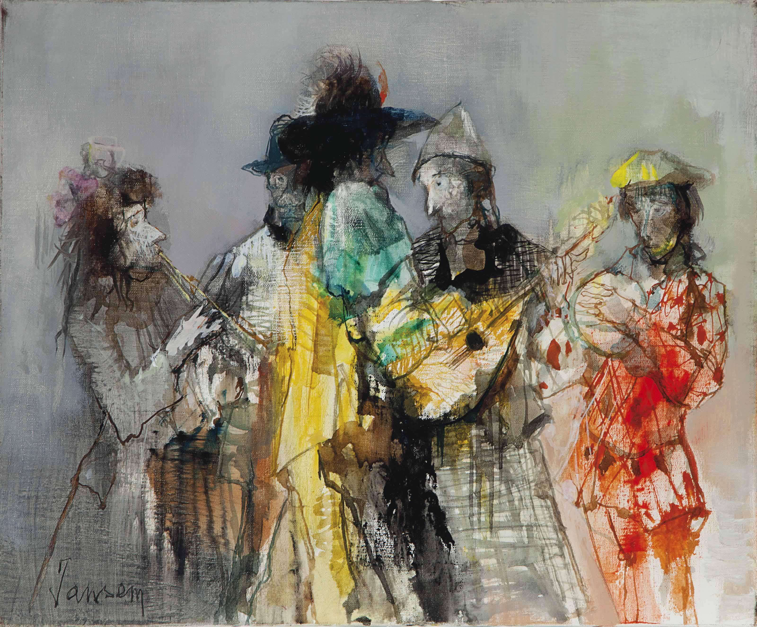 Cinq Musiciens