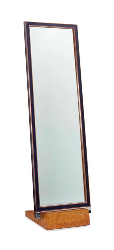 A KARELIAN BIRCH AND BLUE GLAS