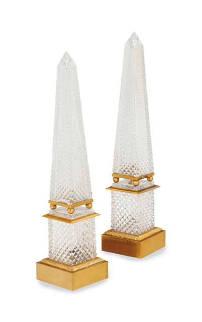 A PAIR OF FRENCH GILT METAL-MO