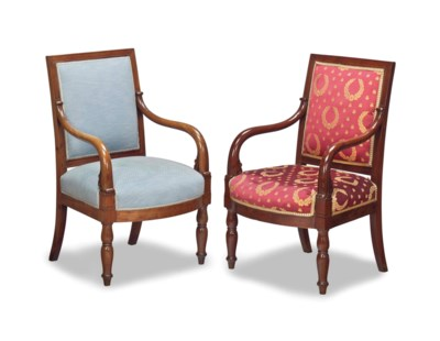 A SET OF THREE LOUIS PHILIPPE