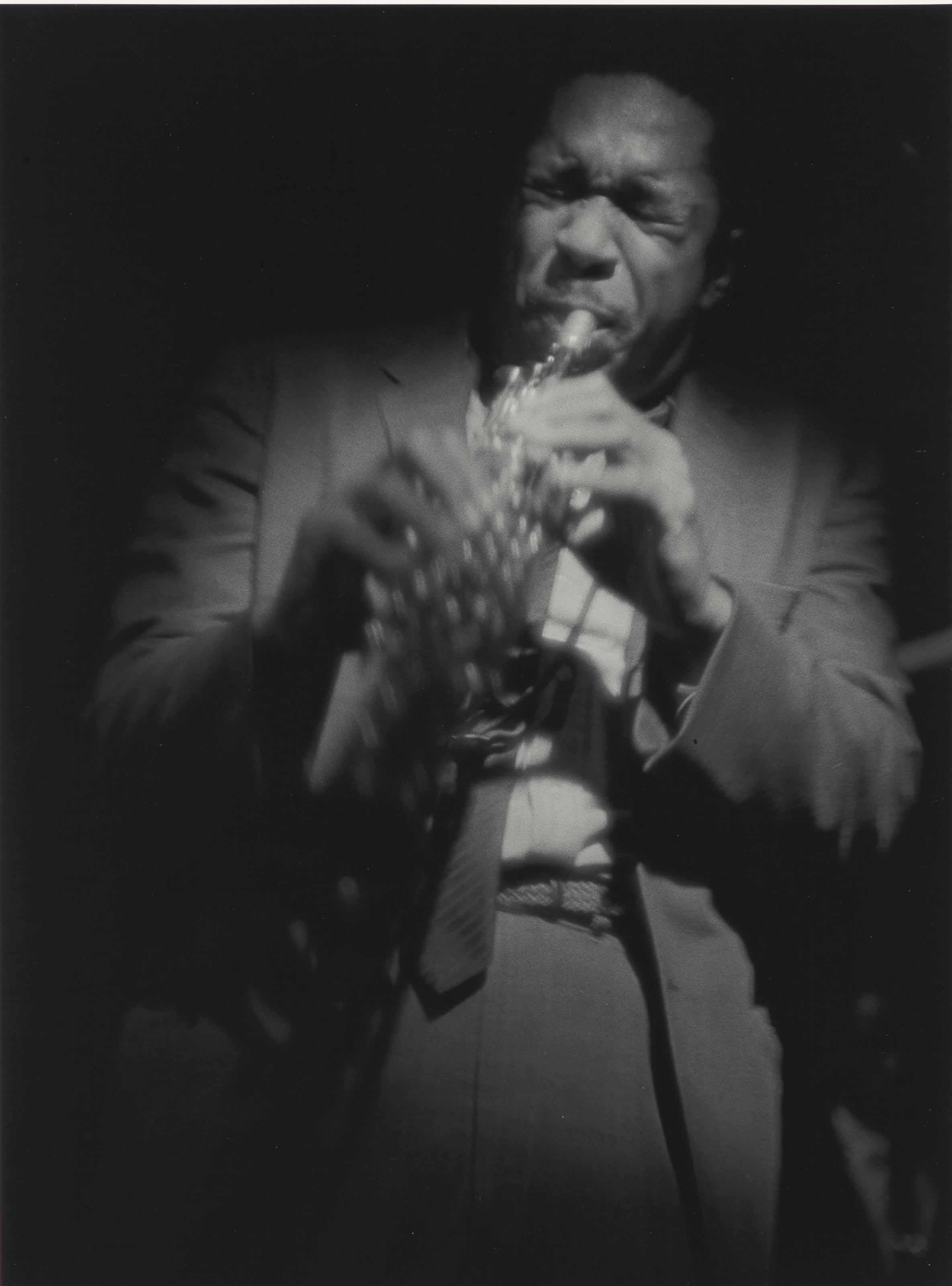 Coltrane on soprano, 1963