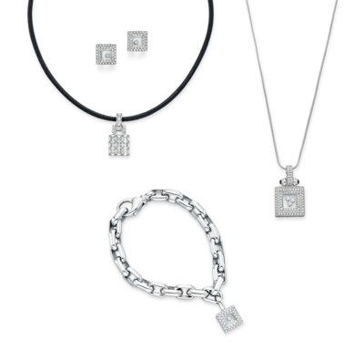 A GROUP OF DIAMOND JEWELRY, BY