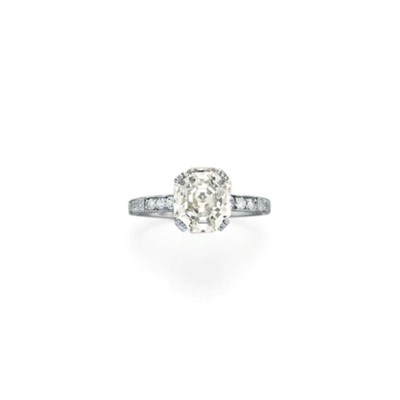 A DIAMOND RING, BY BLACK, STAR