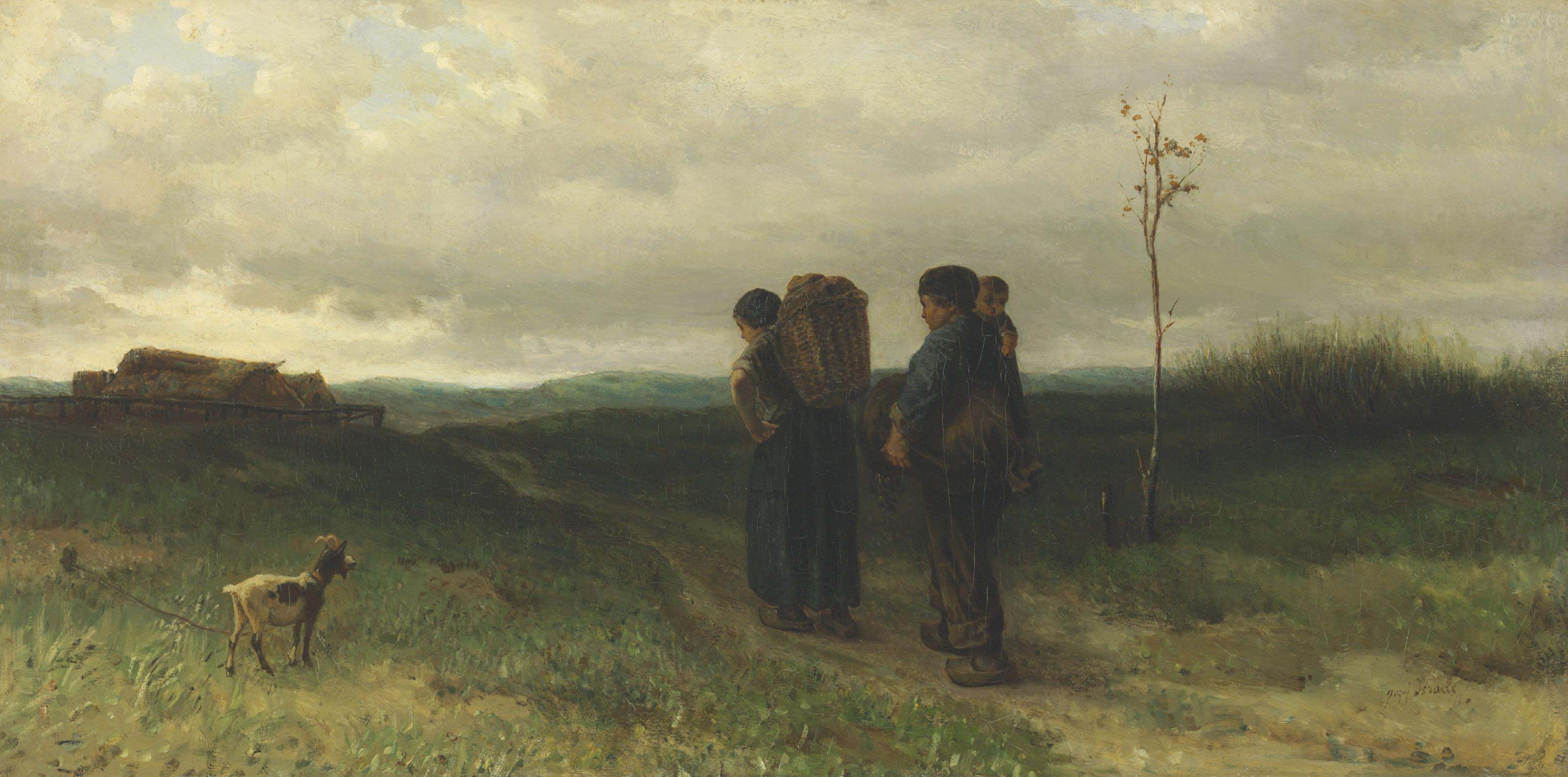 The Parting Day (Huiswaarts)
