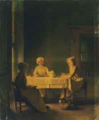 Servants Lunching