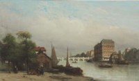 The Amstel River, Amsterdam
