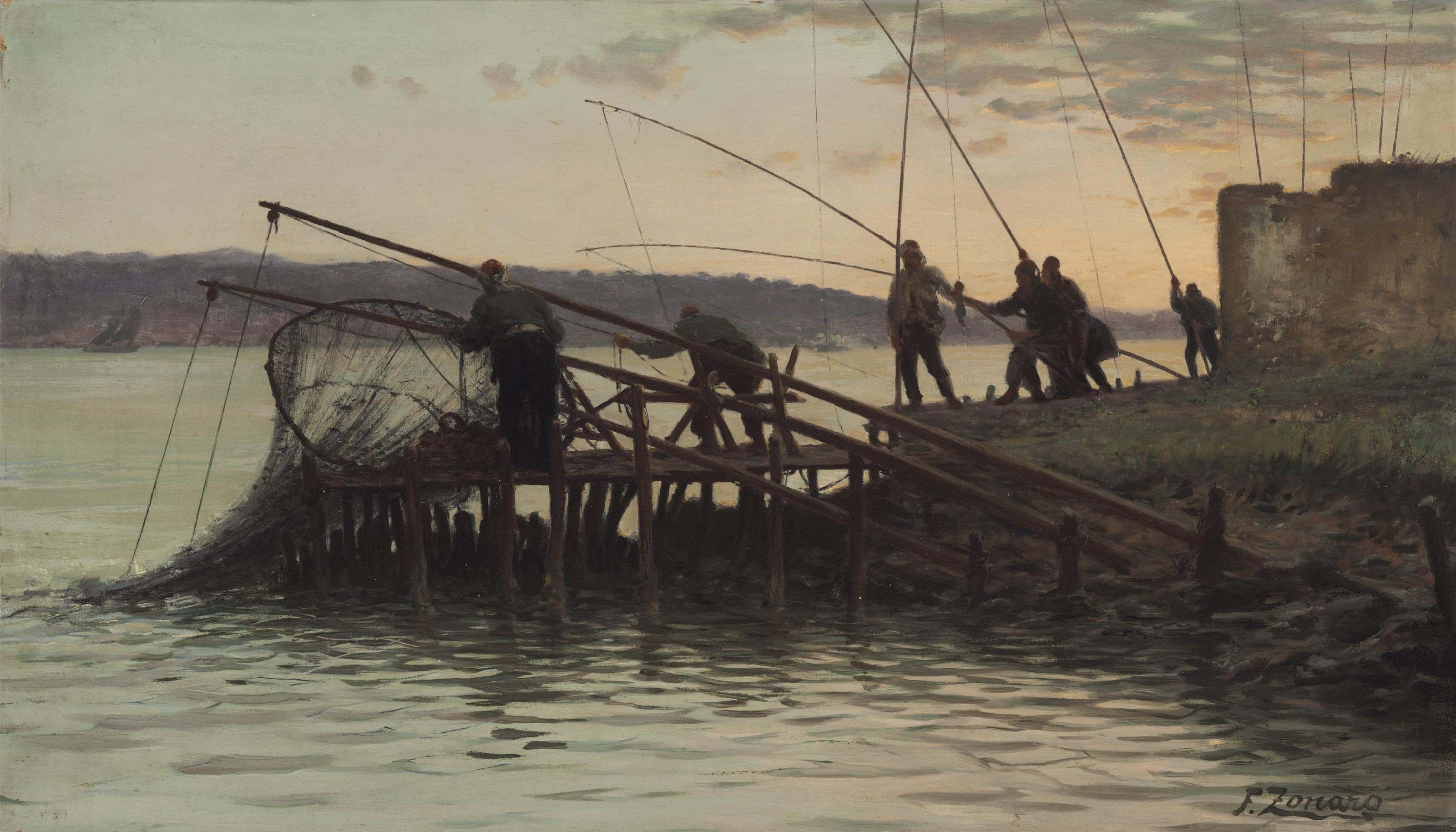 Pescatori alla bilancia 3, sul Bosforo