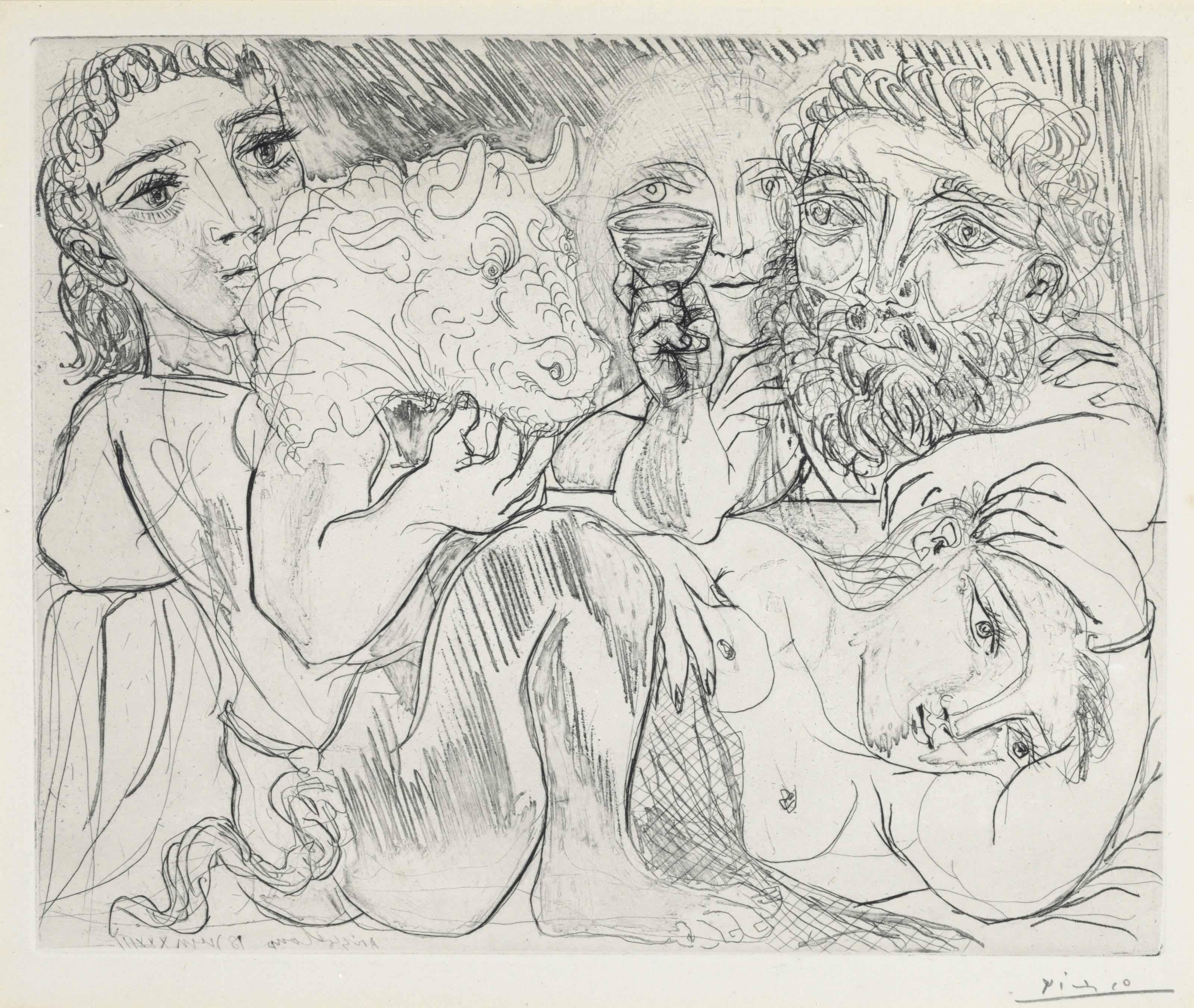 PABLO PICASSO (1881-1973(