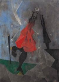 Women Reaching for the Moon
