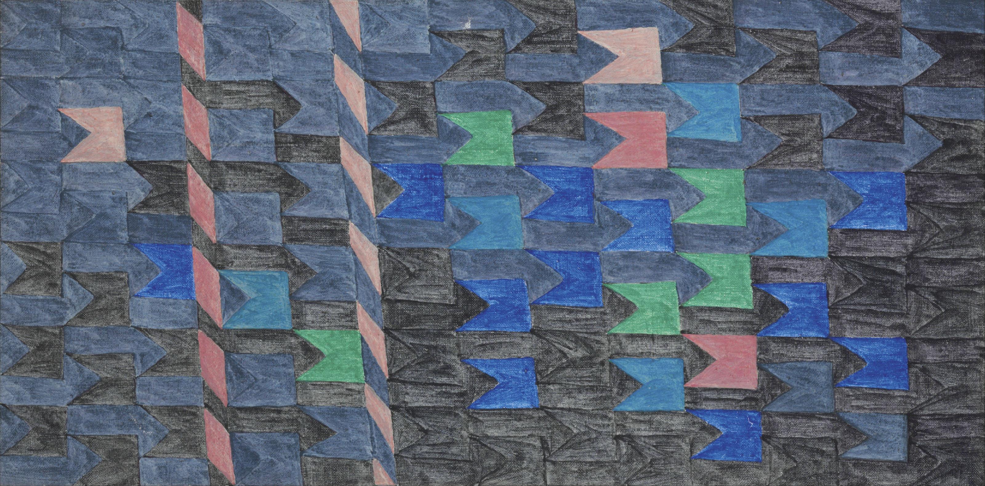 Bandeirinhas horizontais com mastros (No. 1337)