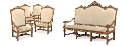 AN IMPOSING FRENCH GILTWOOD FI