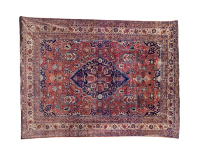 A SILK HERIZ CARPET