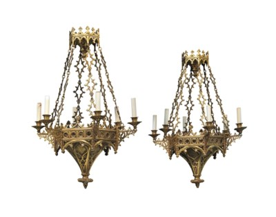 A PAIR OF CONTINENTAL ORMOLU S