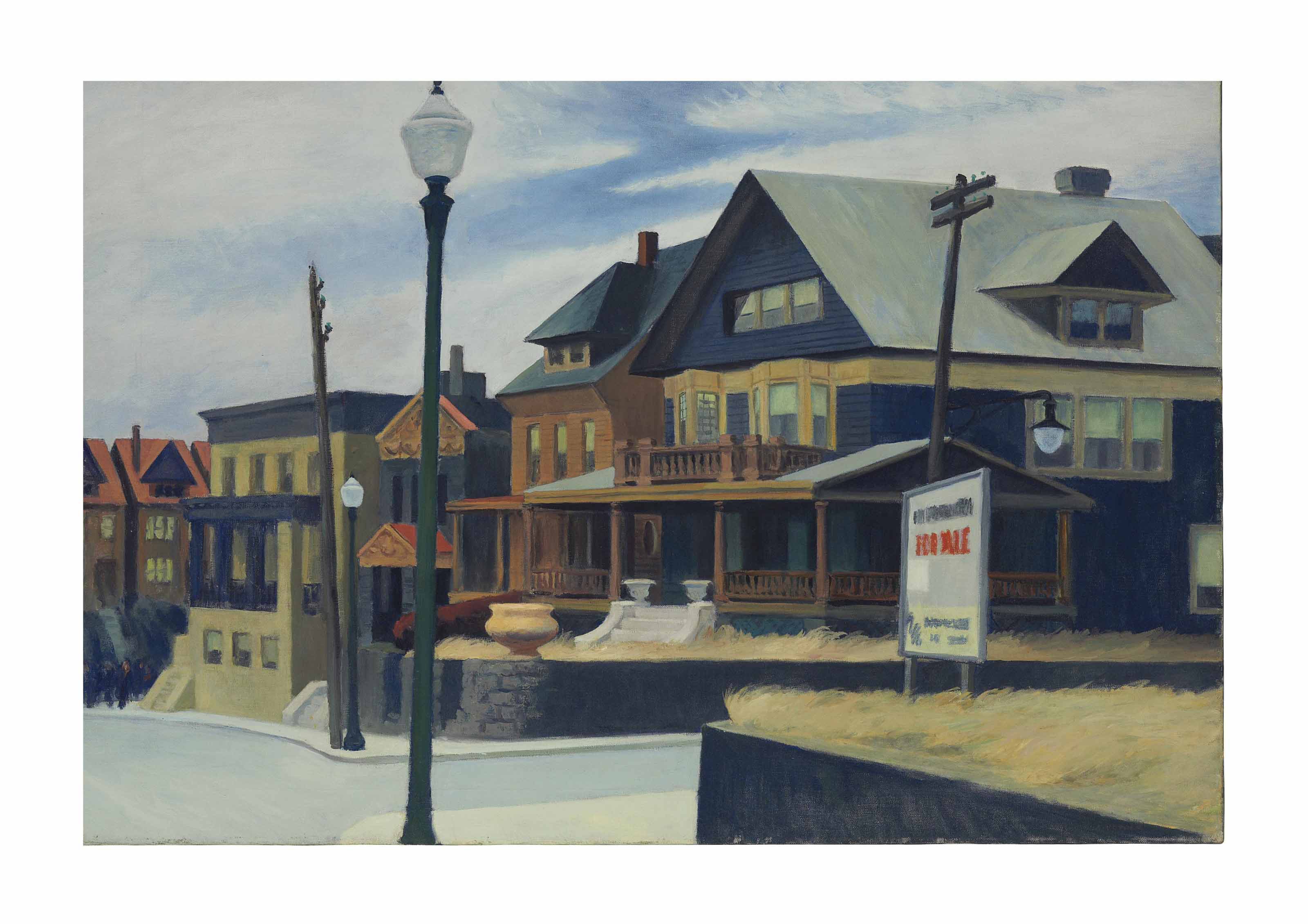 Audio: Edward Hopper, East Wind Over Weehawken