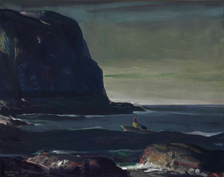 George Wesley Bellows (1882-1925), Evening Swell, painted in 1911. 30 x 38  in (76.2 x 96.5  cm). Sold for $7,893,000 on 5 December 2013 at Christie's in New York