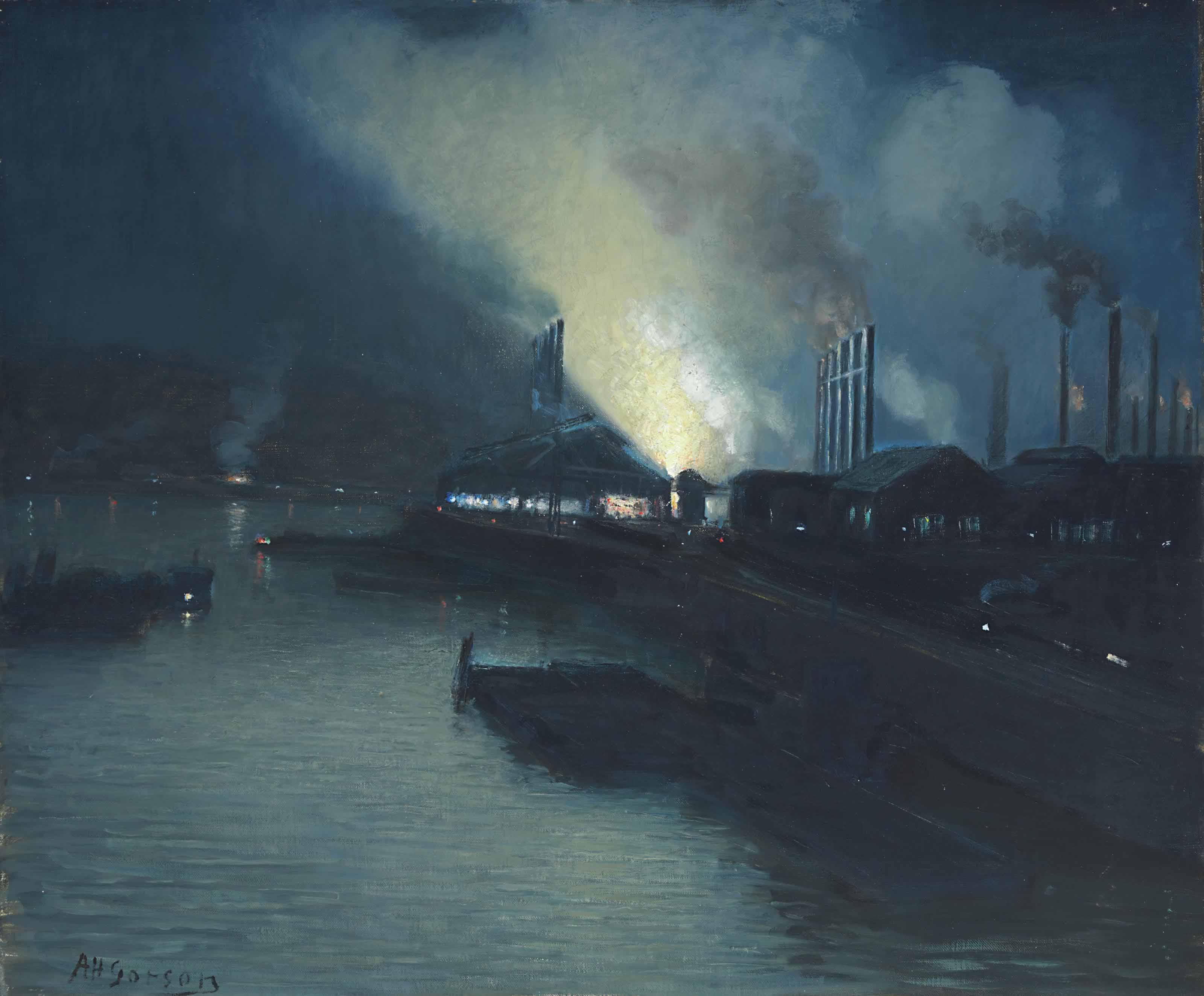 Portrait of a Steel Mill, Pennsylvania