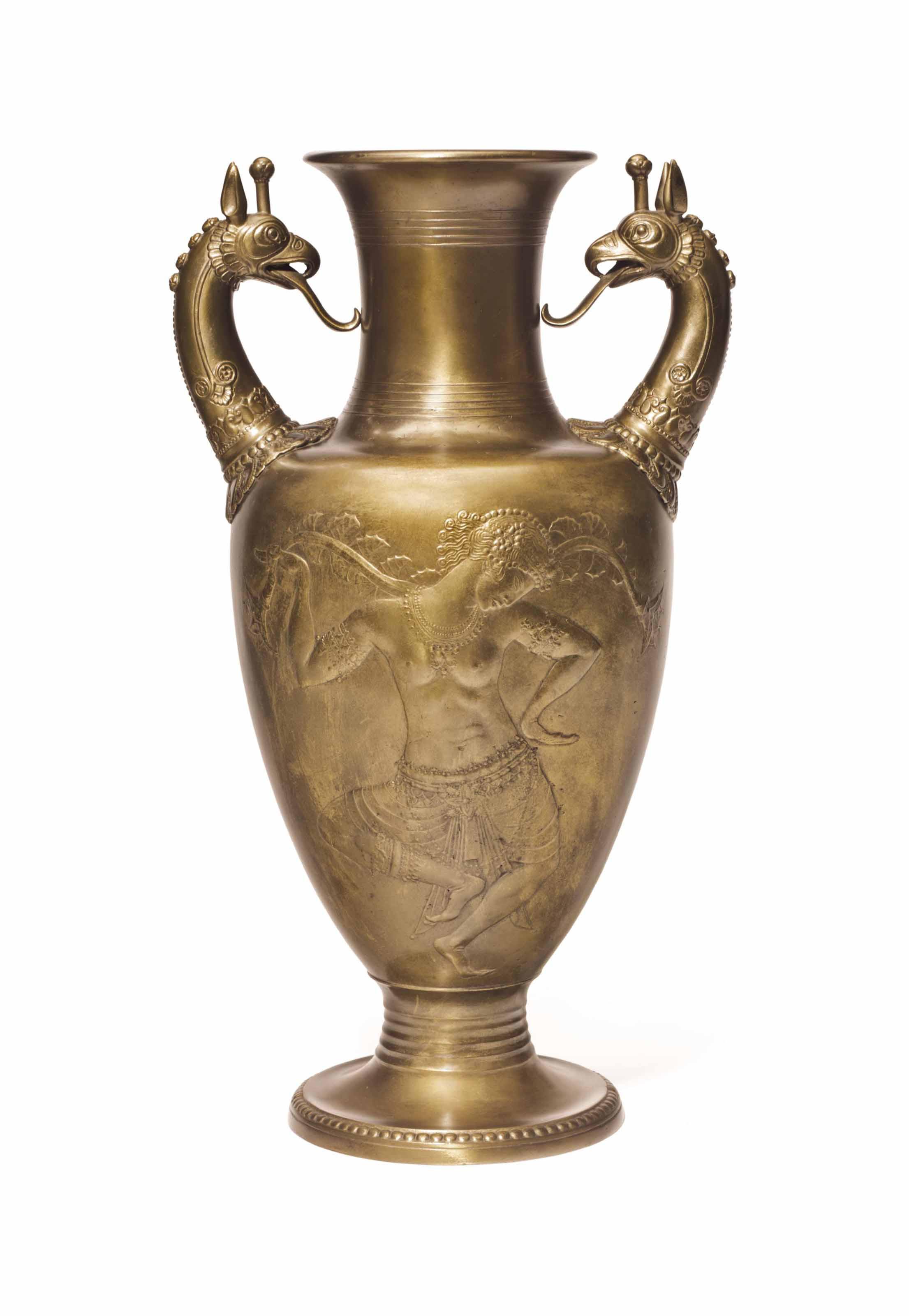 Oriental Dancer: Vase
