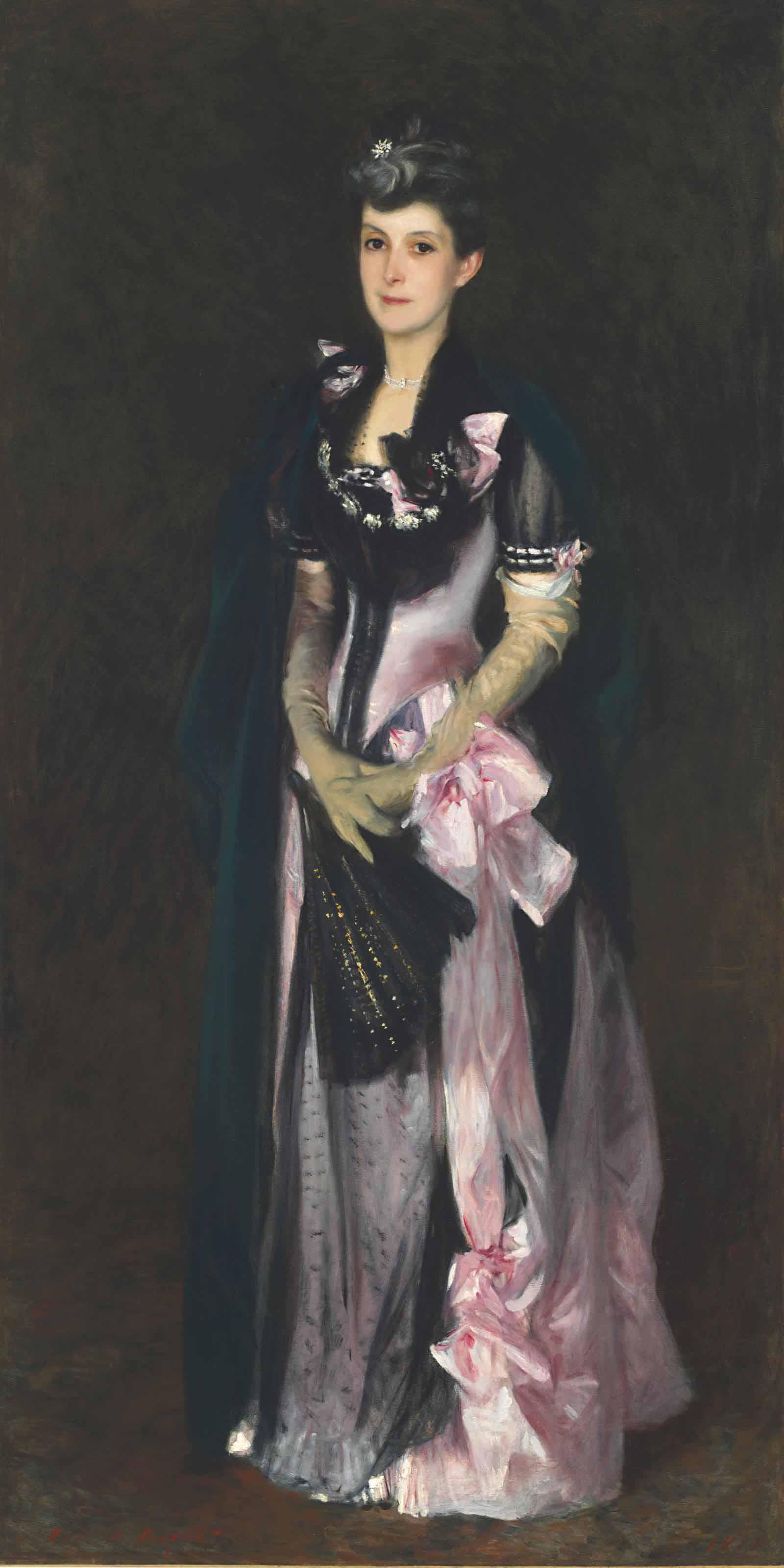 Audio: John Singer Sargent, Mrs. Richard H. Derby