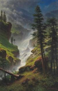 Rocky Mountain Waterfall