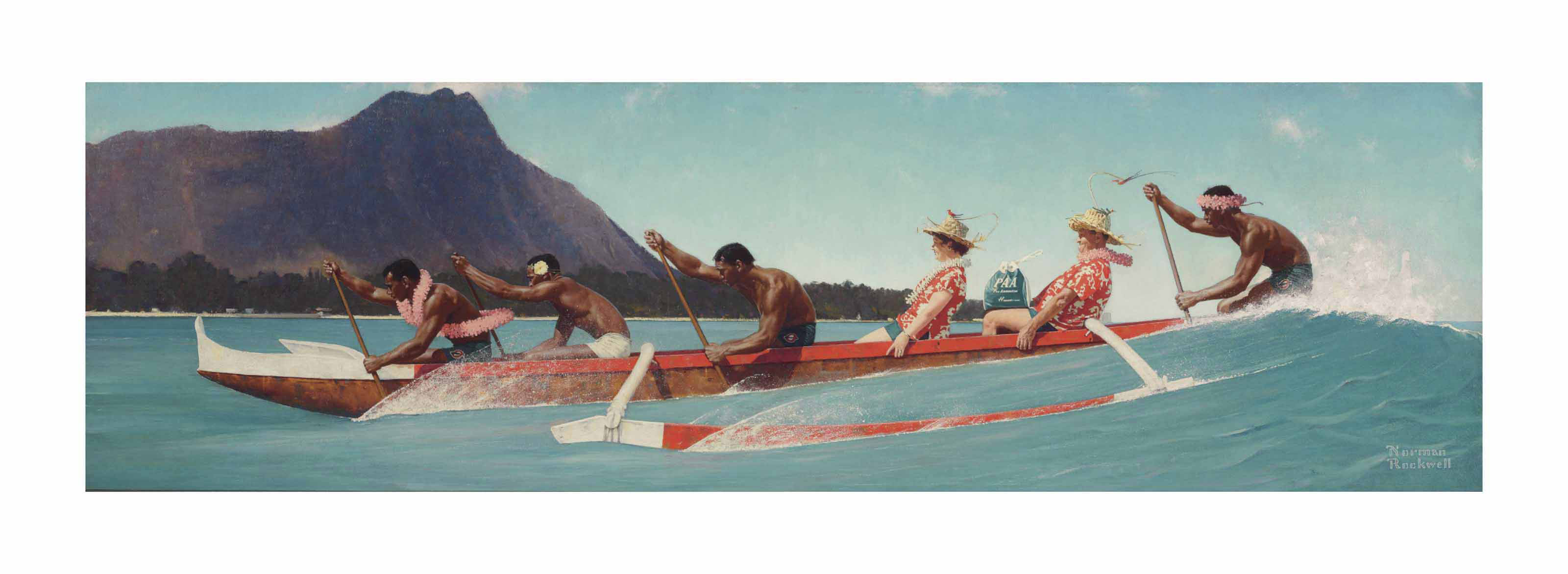 The Thing to Do With Life is Live It! (Outrigger Canoe)