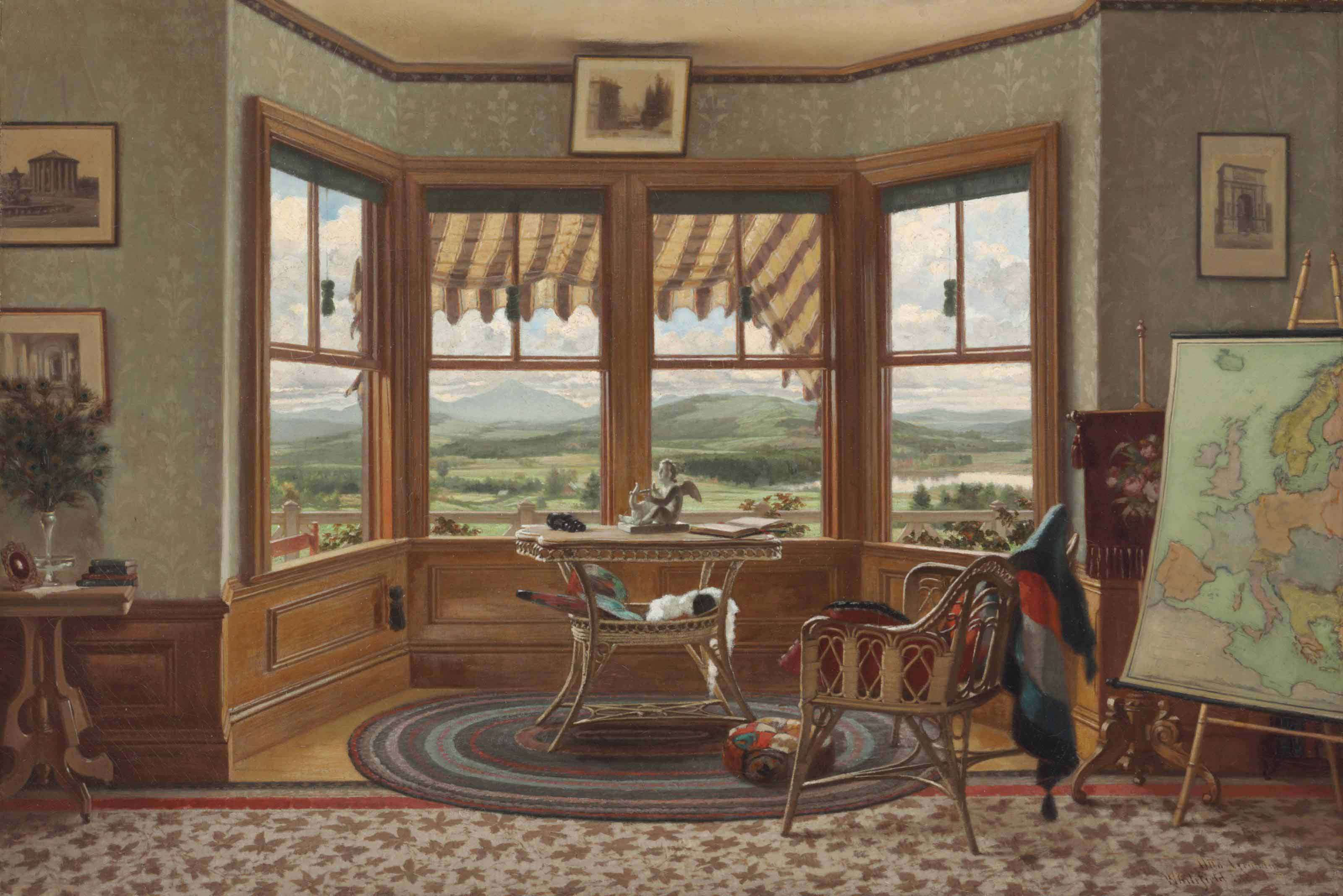 Interior at the Mountains