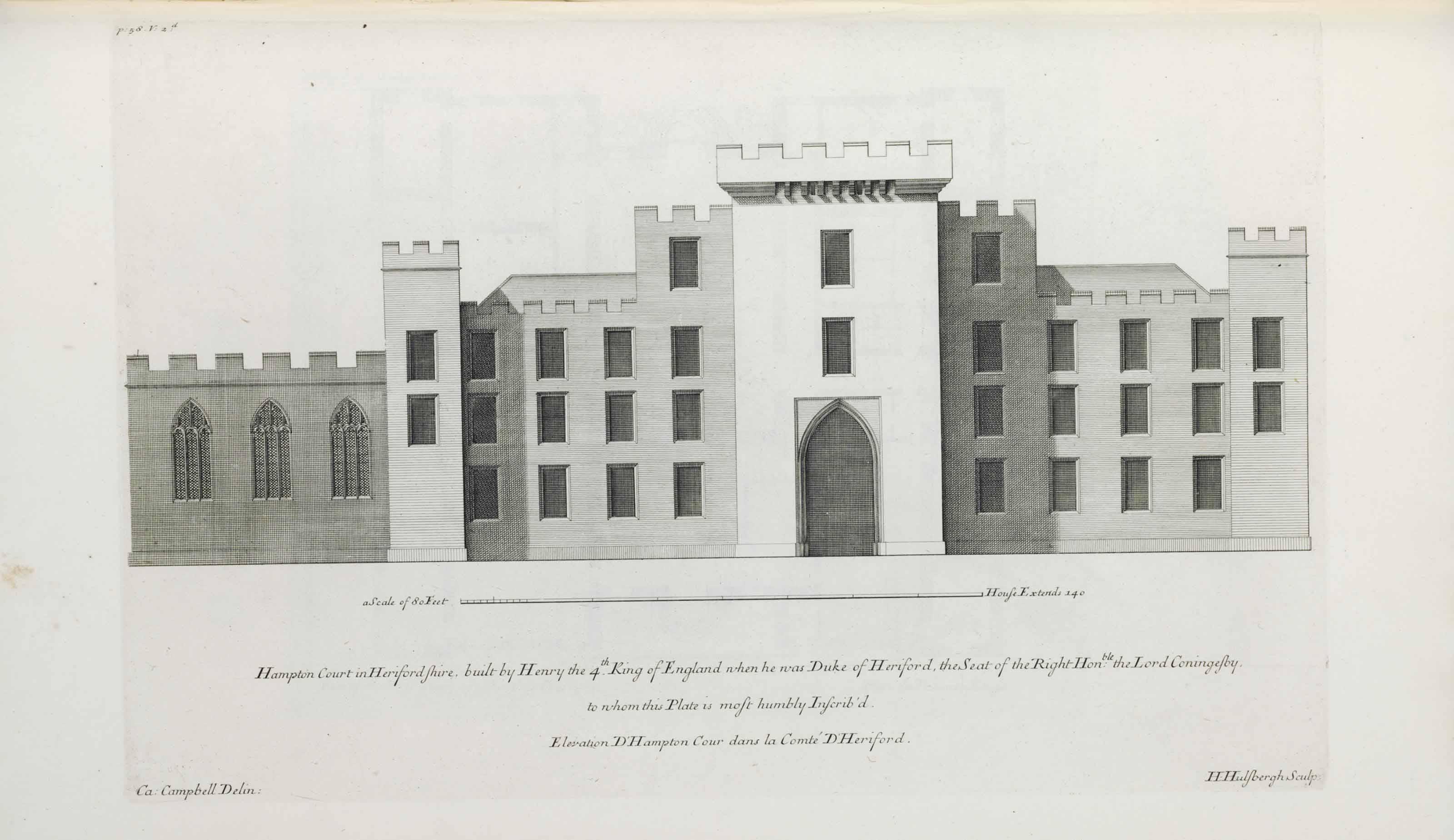 CAMPBELL, Colen (d.1720). Vitr