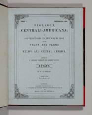 GODMAN, Frederick DuCane and O