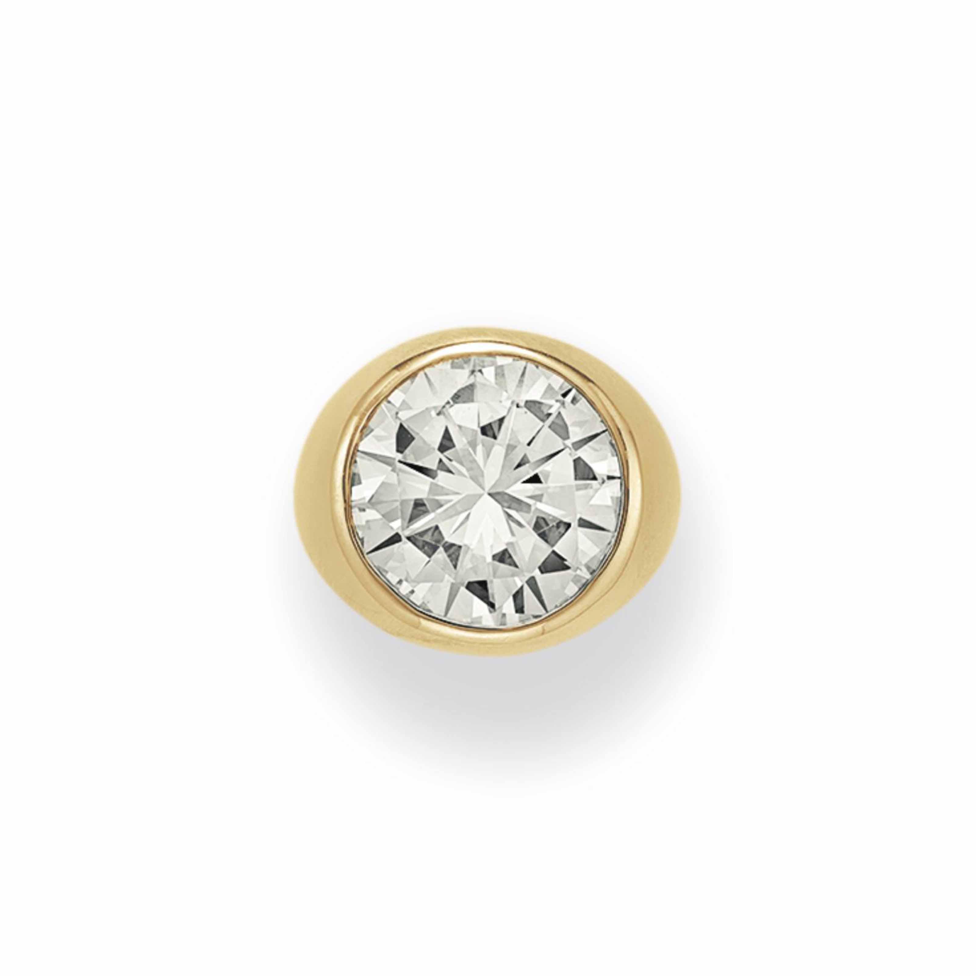 A DIAMOND RING, BY BVLGARI