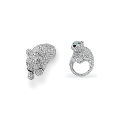 A Diamond And Emerald Quot Panth 200 Re Quot Ring By Cartier Christie S