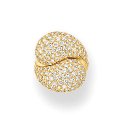A DIAMOND AND GOLD