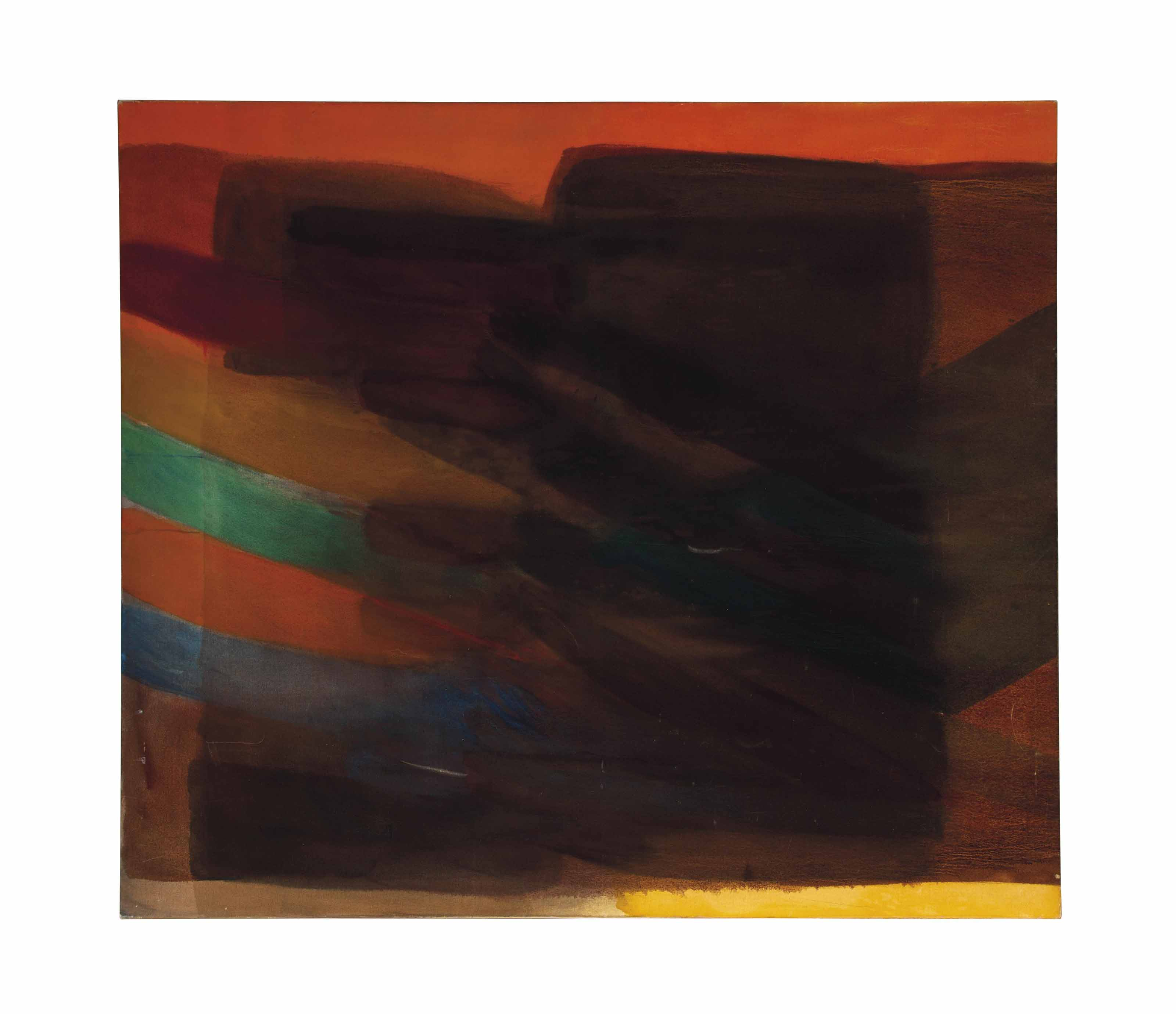 Untitled (Brown Painting)