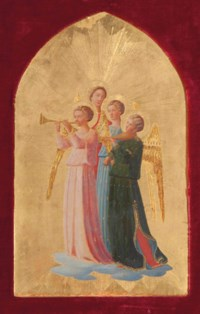 Four Music Making Angels