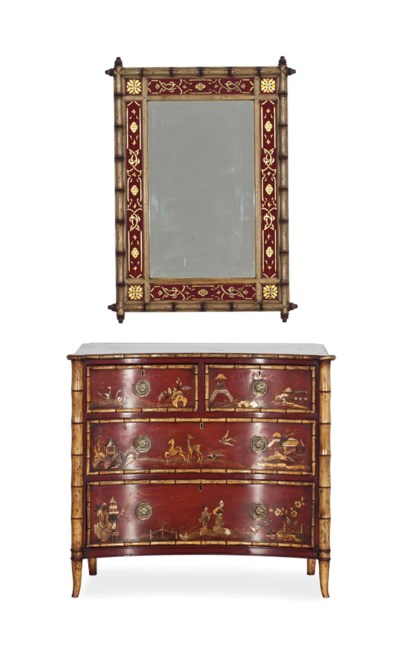 A PAIR OF REGENCY STYLE CLARET