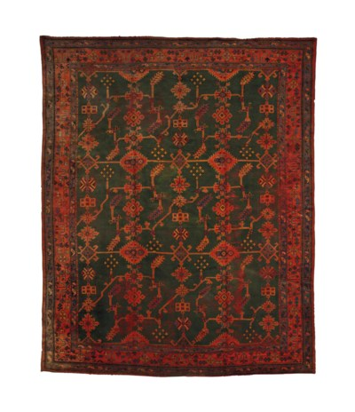 AN USHAK CARPET,