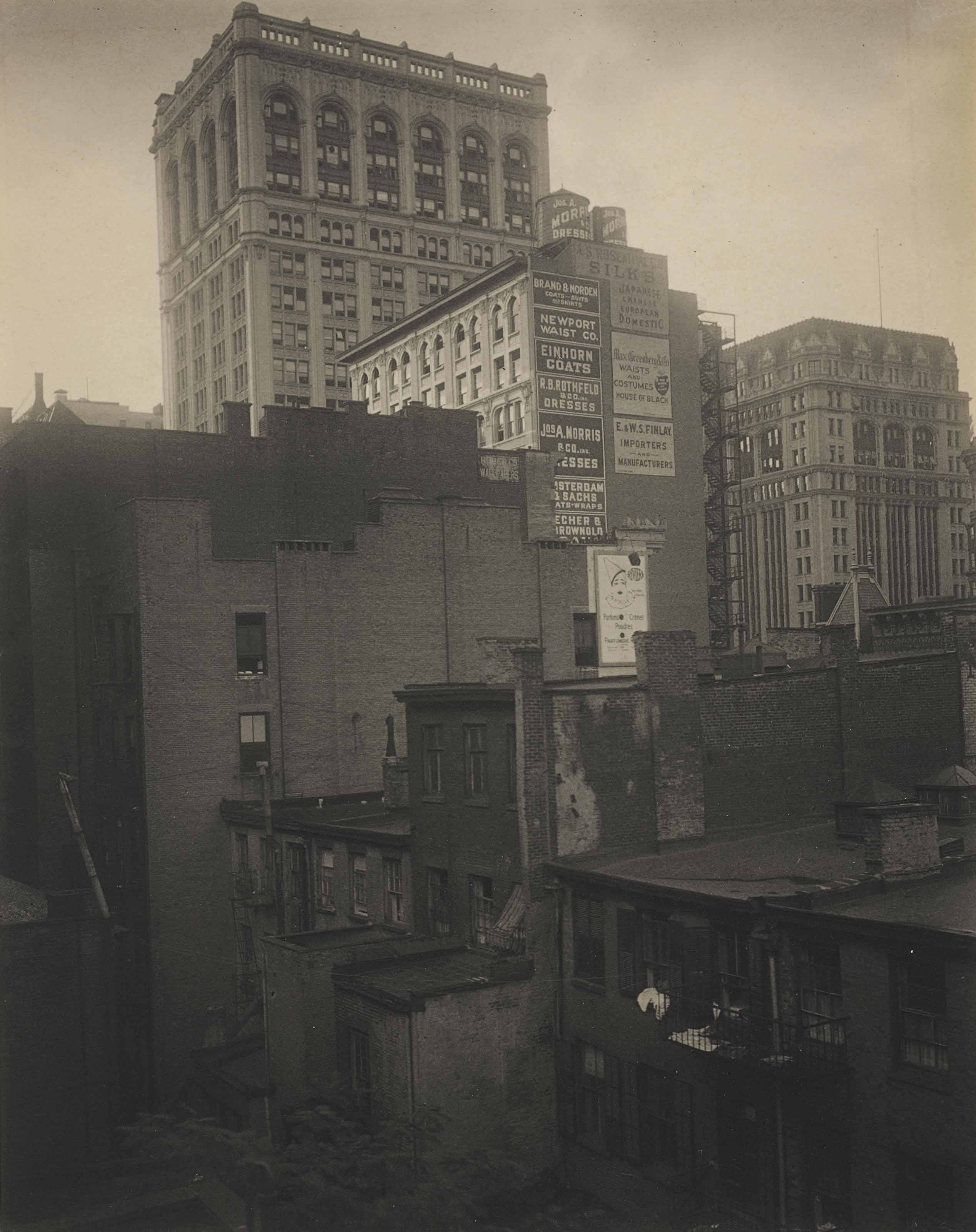 "From the Back Window -- ""291"" -- N.Y., Summer 1914"