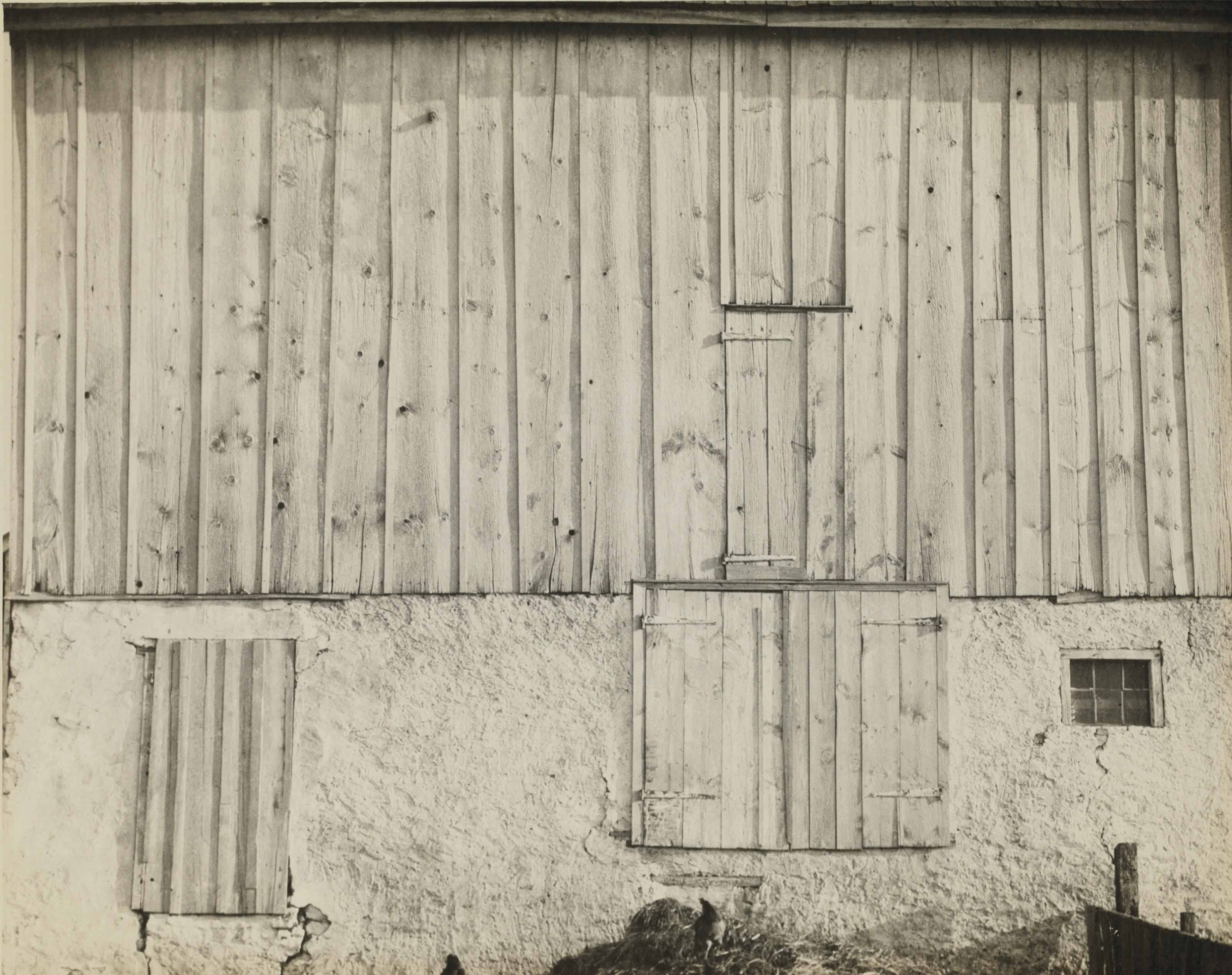 Side of White Barn, Bucks County, 1917