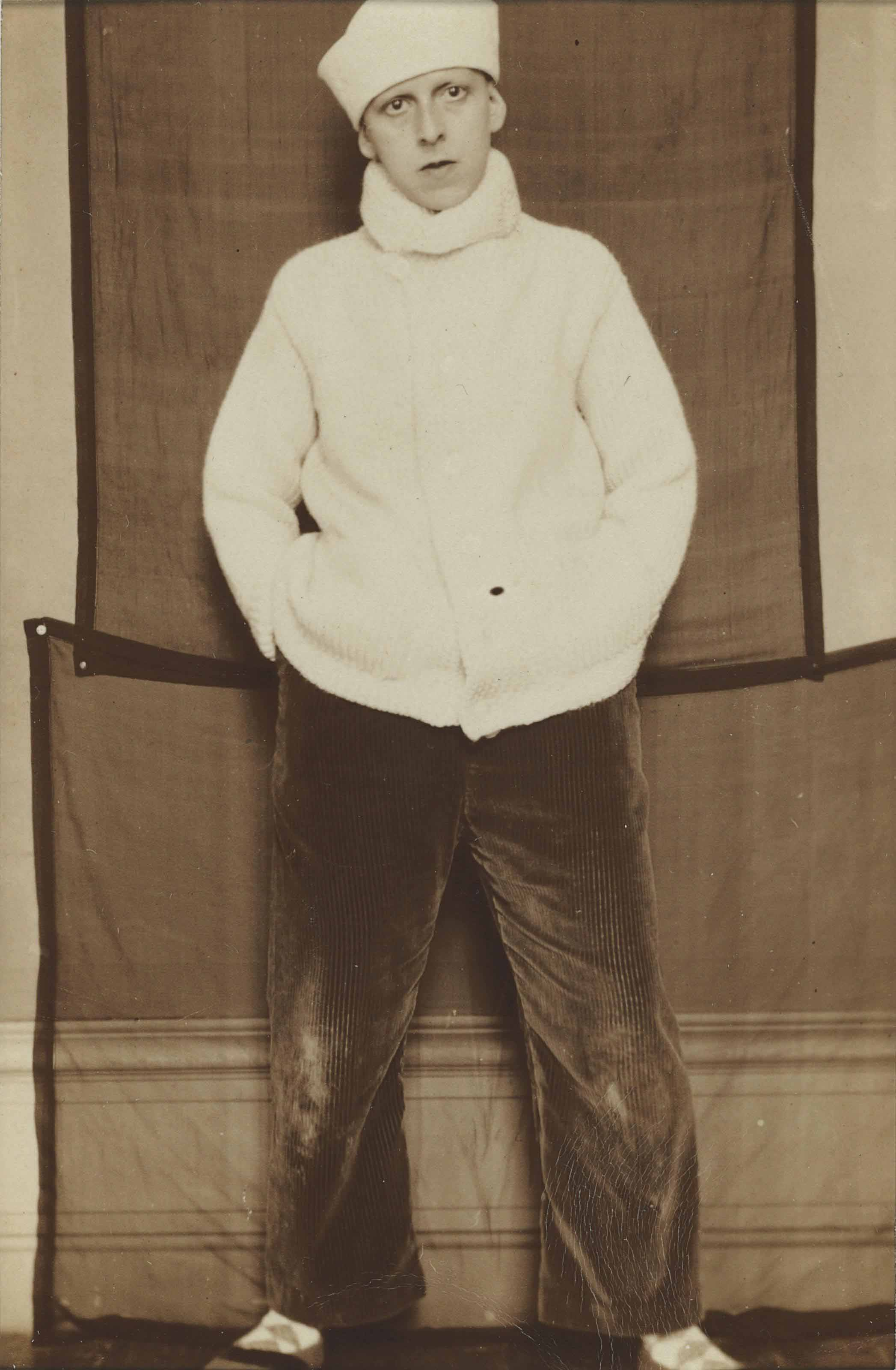 Self Portrait in Sailor Hat, 1920