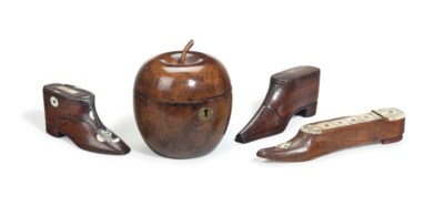 A GROUP OF TREEN