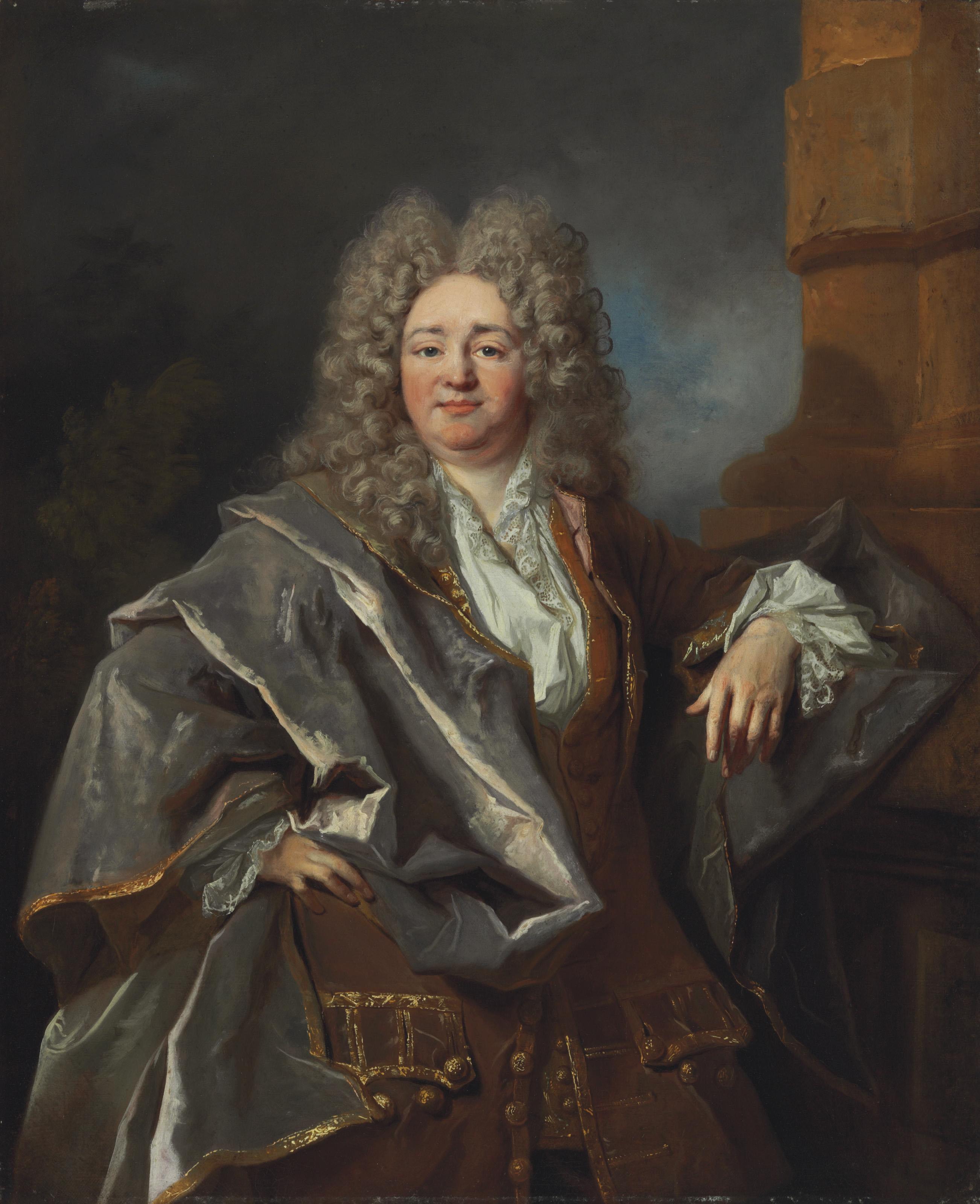 Portrait of a Gentleman, three-quarter length
