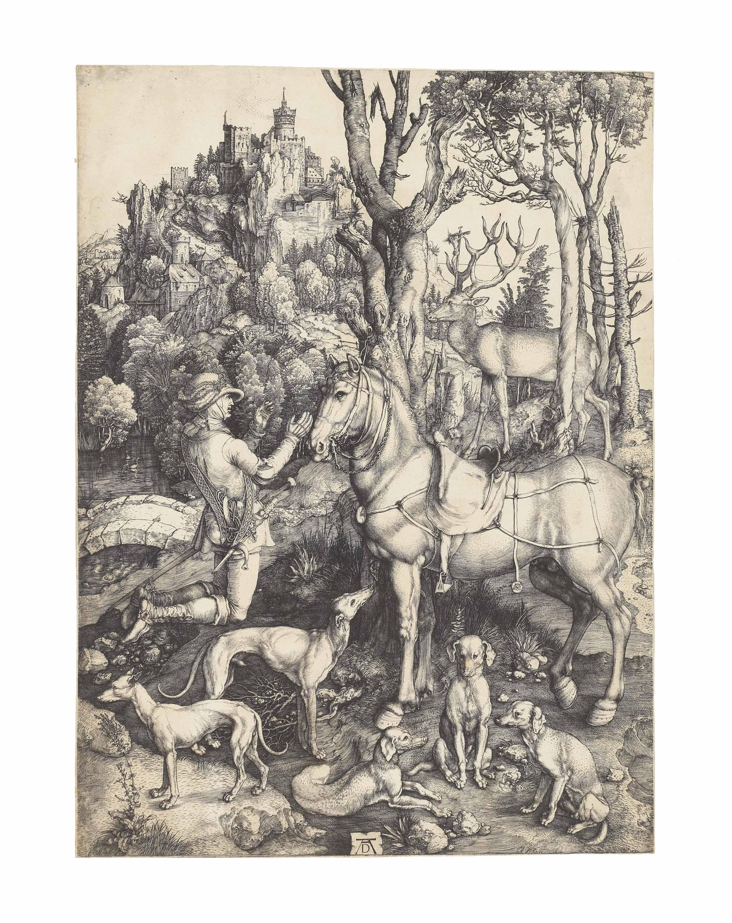 Saint Eustace (B. 57; M., Holl. 60; S.M.S. 32)