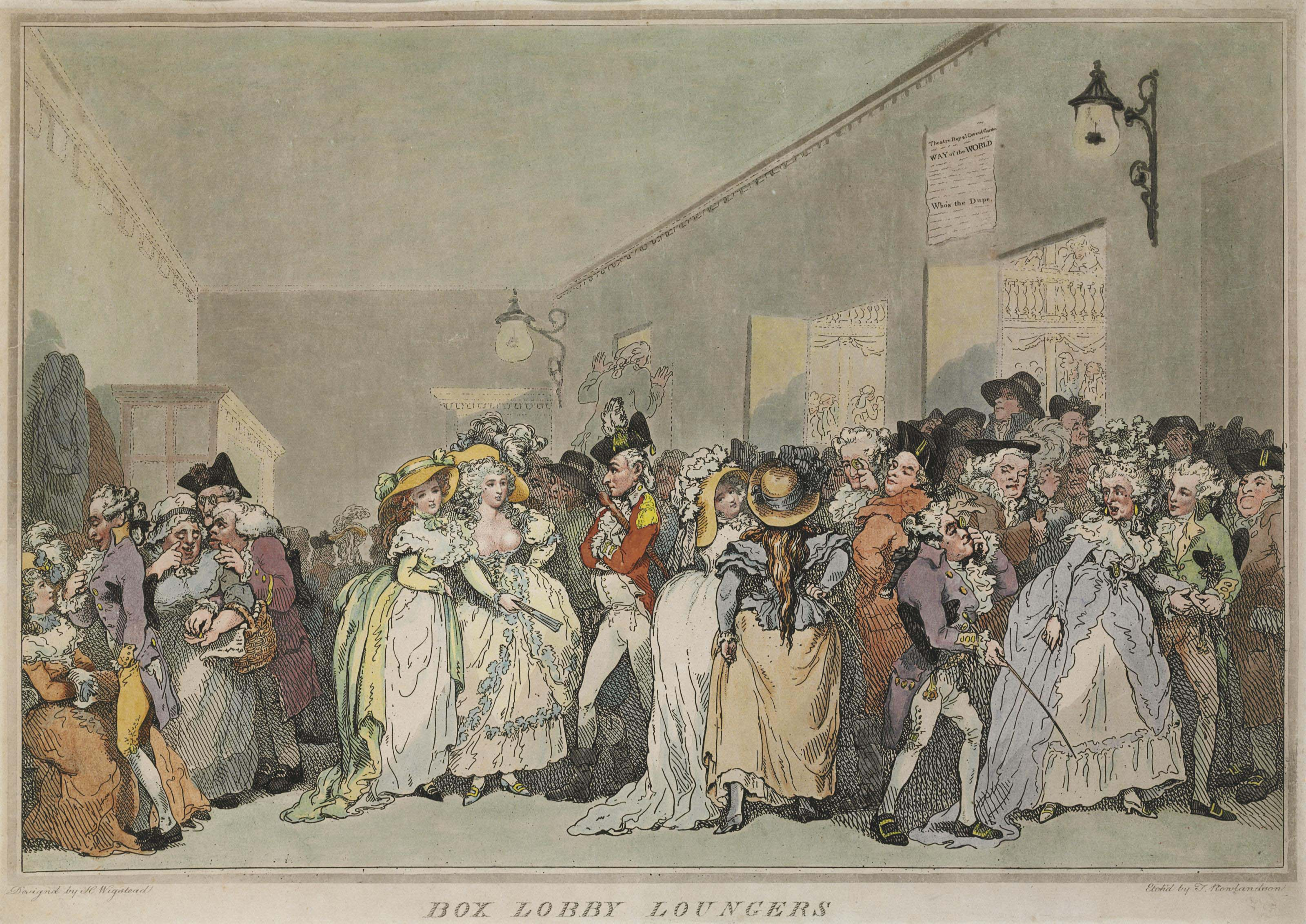 ROWLANDSON, Thomas, after Henry Wigstead