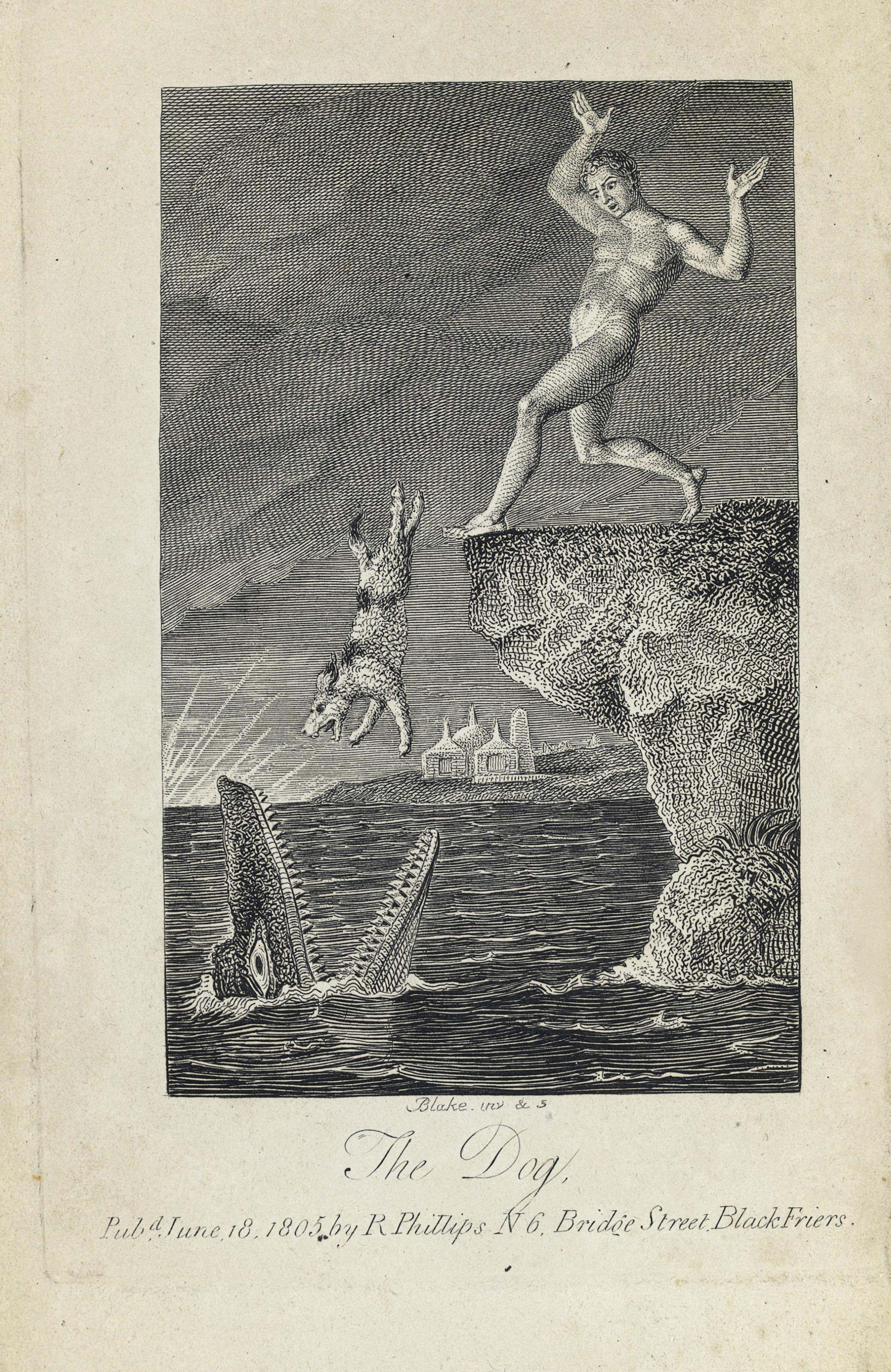 BLAKE, William, illustrator --