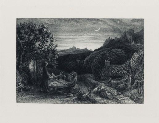 PALMER, Samuel (1805-1881). An