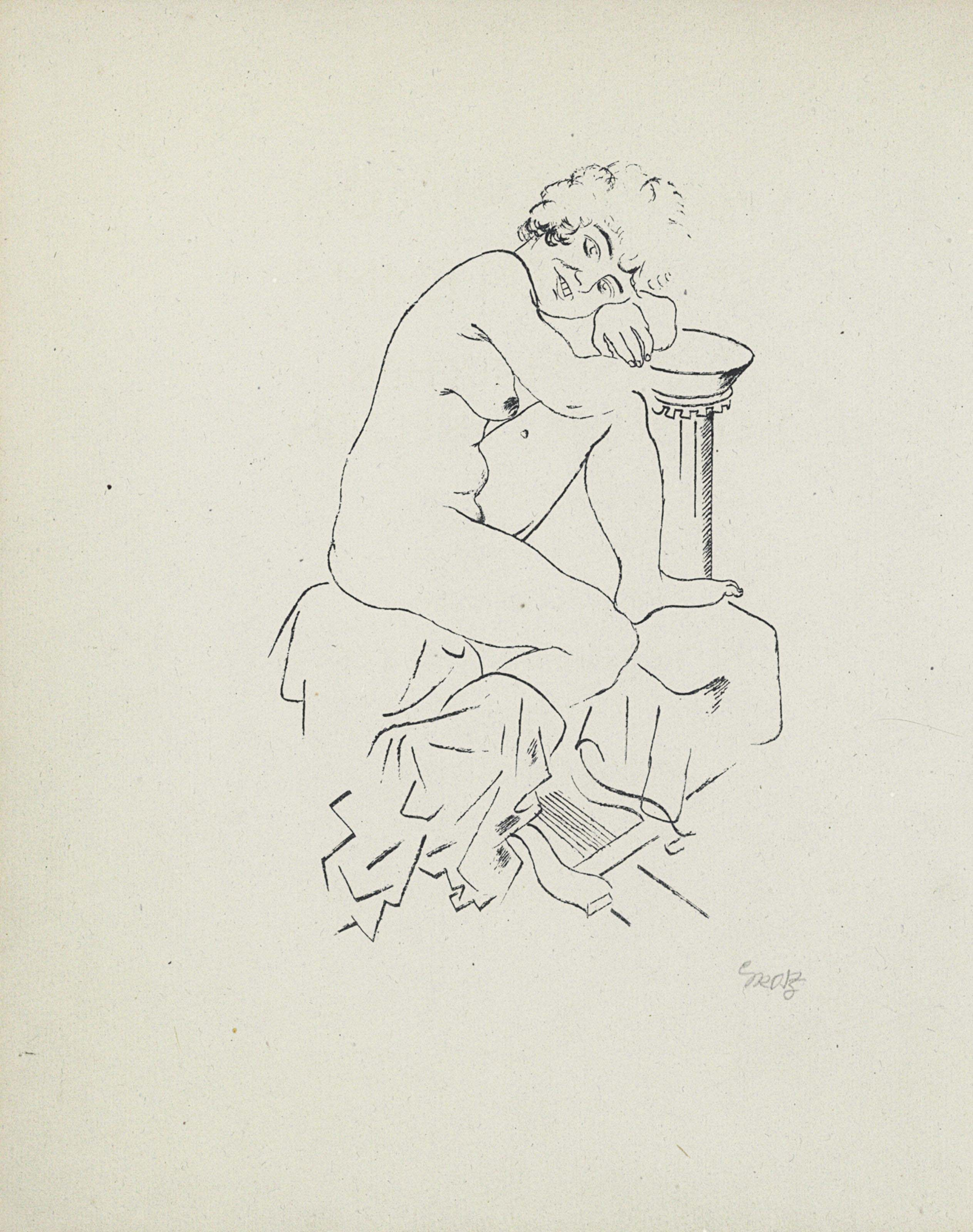 GROSZ, George (1893-1959), ill