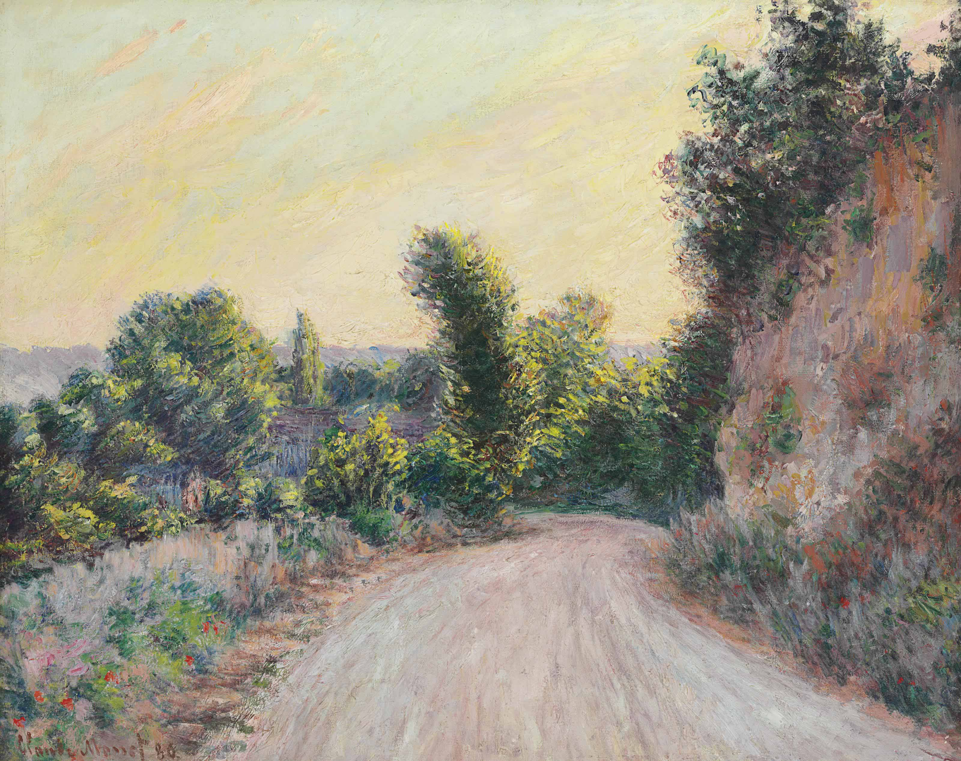 Claude Monet (1840-1926) | Chemin | 19th Century, Paintings | Christie's