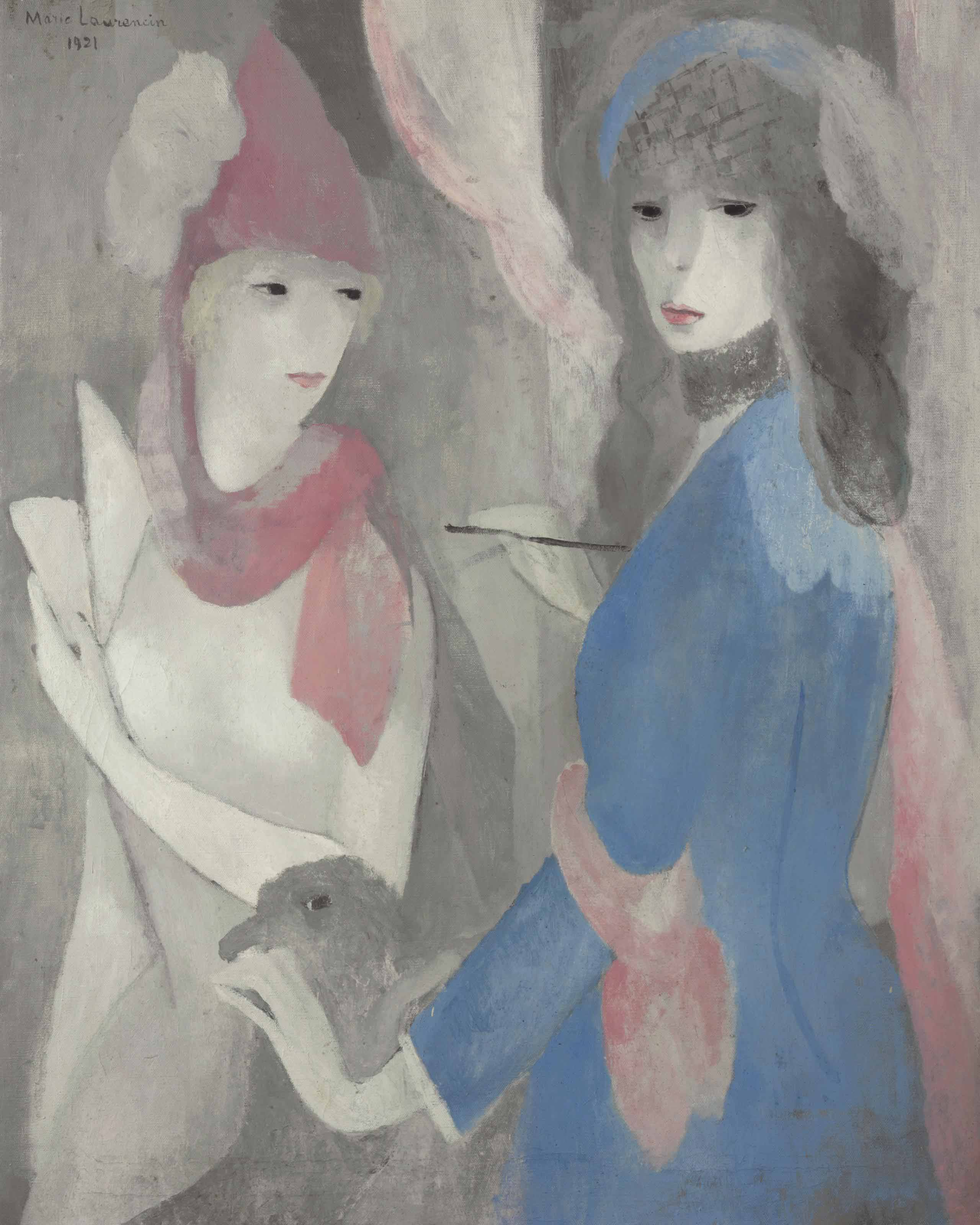 Femme peintre et son modèle